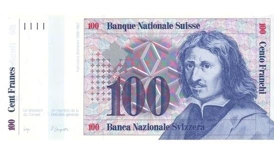 İSVİÇRE FRANKININ TÜM BANKNOTLARI galerisi resim 10