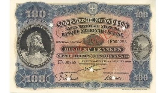 İSVİÇRE FRANKININ TÜM BANKNOTLARI galerisi resim 21