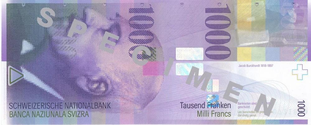 İSVİÇRE FRANKININ TÜM BANKNOTLARI galerisi resim 26