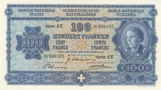 İSVİÇRE FRANKININ TÜM BANKNOTLARI galerisi resim 3
