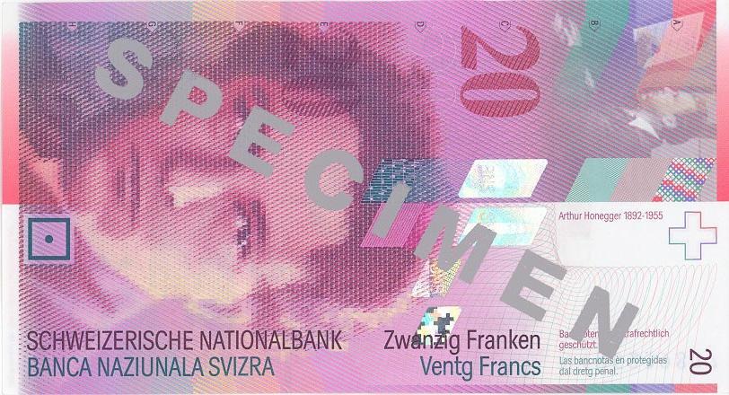 İSVİÇRE FRANKININ TÜM BANKNOTLARI galerisi resim 4