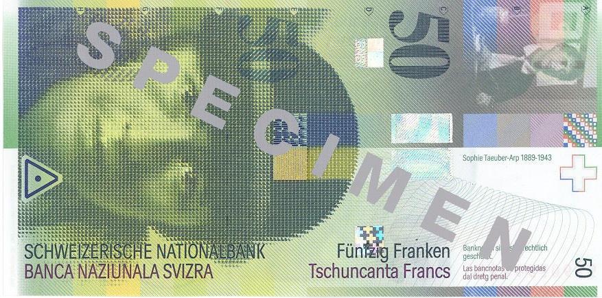 İSVİÇRE FRANKININ TÜM BANKNOTLARI galerisi resim 43
