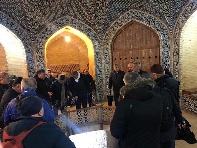 TİSAB İran'a tarih ve kültür gezisi düzenledi galerisi resim 17