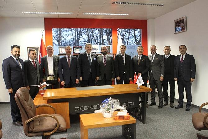 MÜSİAD İsviçre şubesinin yeni ofisi açıldı galerisi resim 1