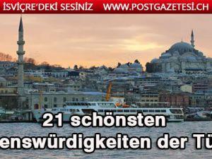 Die schönsten Sehenswürdigkeiten der Türkei