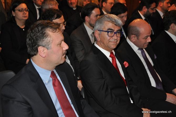 Başbakan Yardımcısı Arınç İsviçre'de STK temsilcileri ile görüştü galerisi resim 6