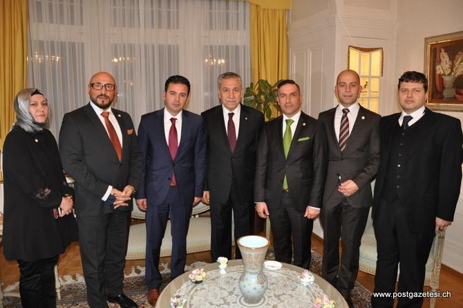 Başbakan Yardımcısı Arınç İsviçre'de STK temsilcileri ile görüştü galerisi resim 8