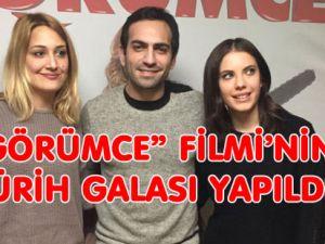 """""""GÖRÜMCE"""" FİMİNE ZÜRİH'TE YOĞUN İLGİ"""