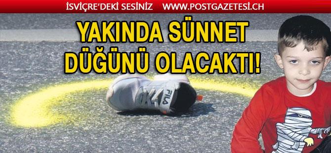 Türk çocuğu Emir otobüsün altında can verdi