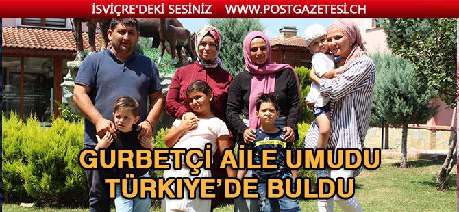 Gurbetçi aile umudu Türkiye'de buldu: Her şey Batuhan için