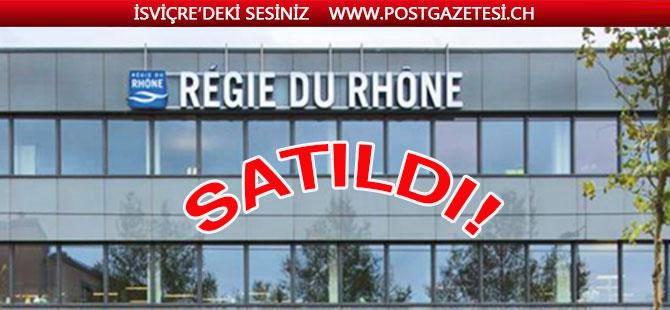 """İsviçre'nin en önde gelen  emlak firması """" Regie du rhone"""" satıldı"""
