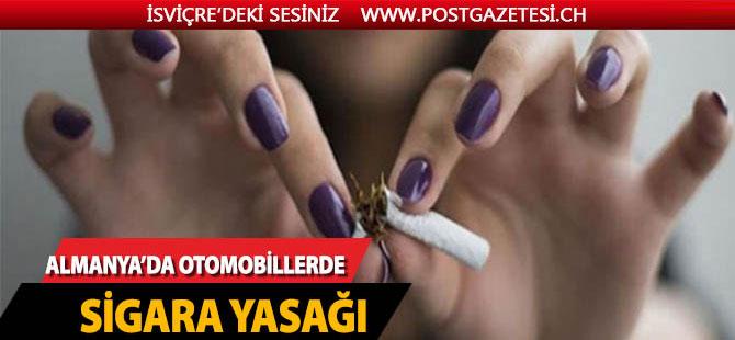 Almanya'ya otomobillerde sigara yasağı