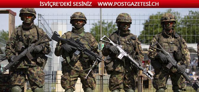 İsviçre'de asker sayısı en düşük rekor bir seviyede bulunuyor