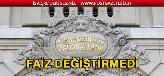 İsviçre Merkez Bankası Bankaların Cezai Faizini Düşürüyor