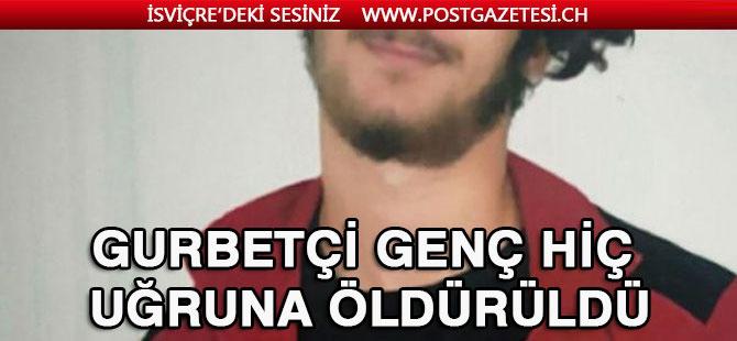 Türk genci bir hiç uğruna öldürüldü! Abisi feryat etti