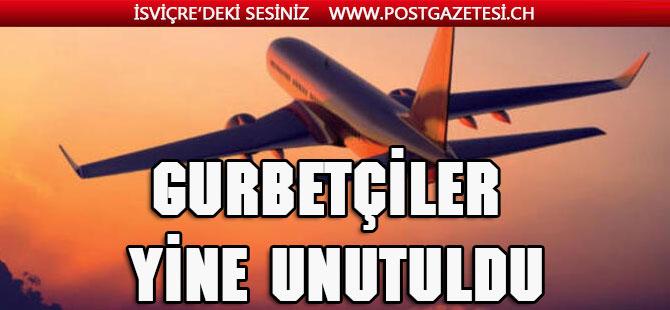 Gurbetçi yine unutuldu: Türkiye'deki uçuşlara yeni tavan fiyat
