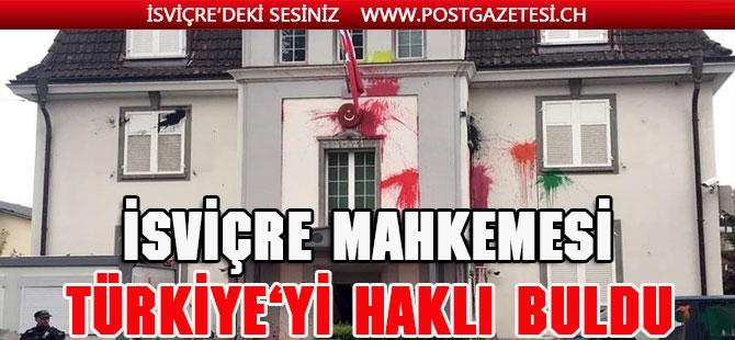 İsviçre Mahkemesi Türkiye'yi bir kere daha haklı buldu