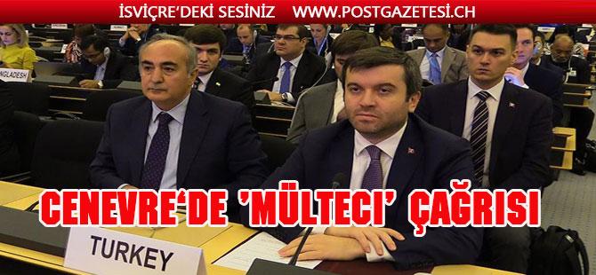 Türkiye'den uluslararası topluma 'mülteci' çağrısı