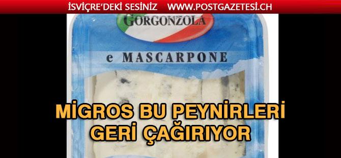 Migros iki peynirin tüketilmemesi çağrısında bulundu