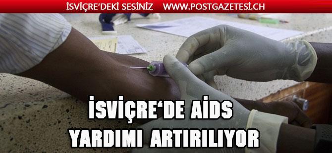 İsviçre, AIDS'e karşı yardımı arttırıyor
