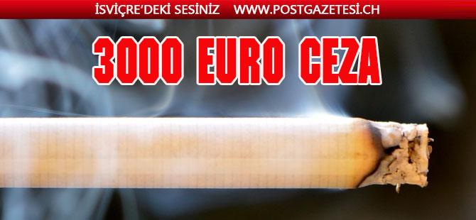 Arabada sigara içene 3000 Euro'ya kadar ceza