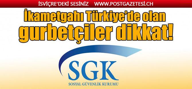 İkametgahı Türkiye'de olan gurbetçiler dikkat: GSS borcu çıkabilir!
