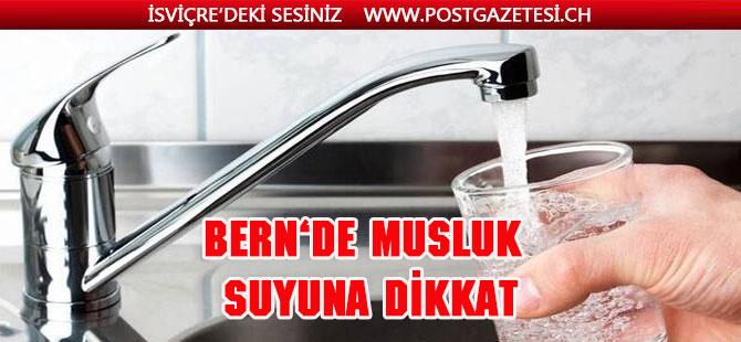 """Bern kantonundaki  """" Courtelary'ın """" musluk suyunu içmeyin"""