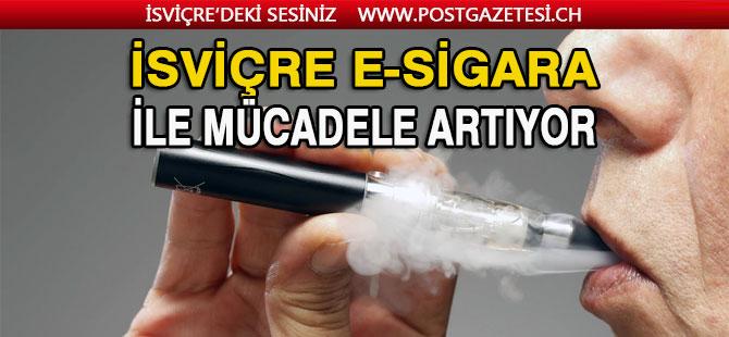 İsviçre, sigara ve e-sigara ile mücadeleyi  hızlandırıyor