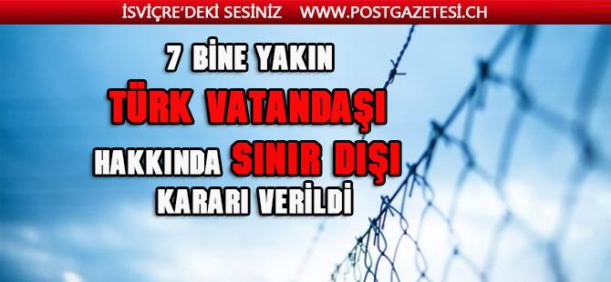 Binlerce Türk Ülke'yi terketmek zorunda