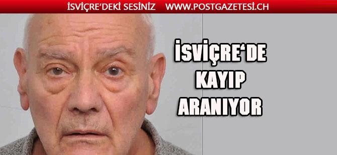 Cenevre'de 80 yaşındaki bir kişi kayboldu