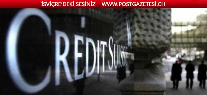 Credit Suisse 3.çeyrekte beklentilerin üzerinde kar açıkladı