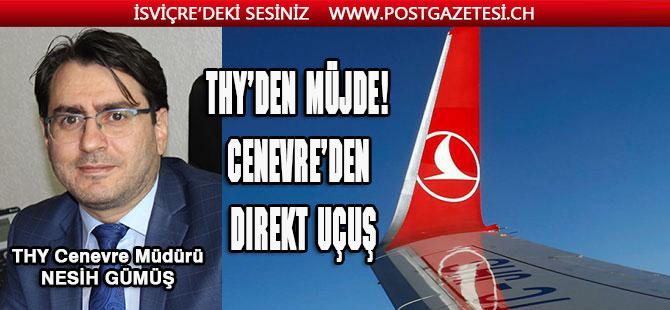 Cenevre, Antalya direk seferleri başlıyor