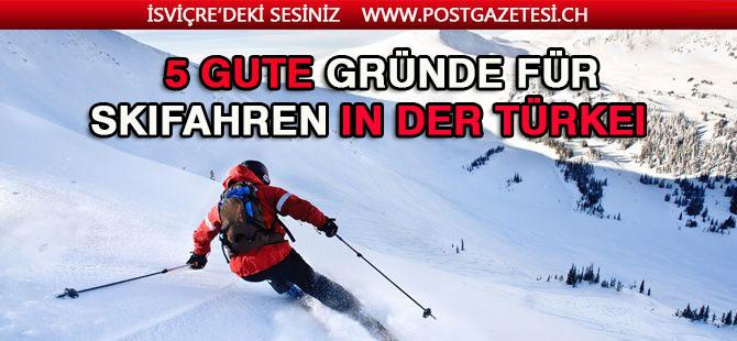 5 gute Gründe für Skifahren in der Türkei