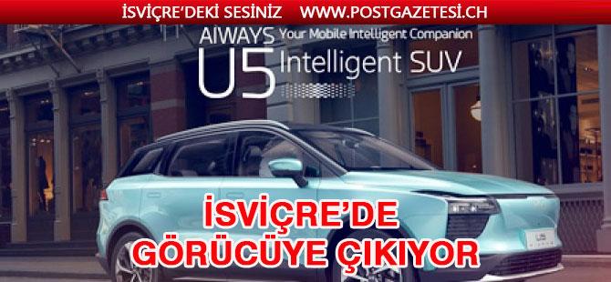 Çin'in elektrikli otomobili İsviçre'de görücüye çıkıyor