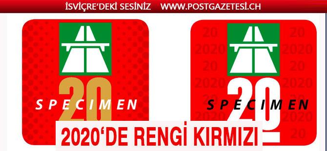 2020 Vinyet rengi Kırmızı! Son Tarih 31 Ocak 2020
