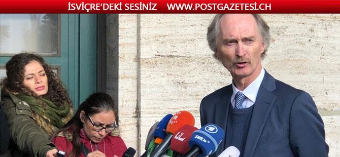 Cenevre'deki Suriye Anayasa Komitesi görüşmeleri rejimin tavrı nedeniyle başarısızlıkla sonuçlandı