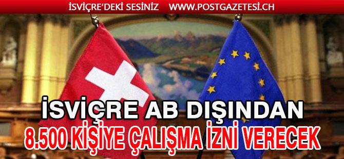 İsviçre Avrupa Birliği dışından binlerce yabancı işçi alacak
