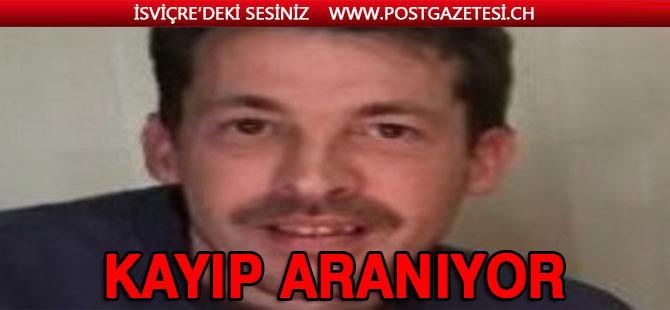 Lozan'da 37 yaşında bir erkek kişi kayıp
