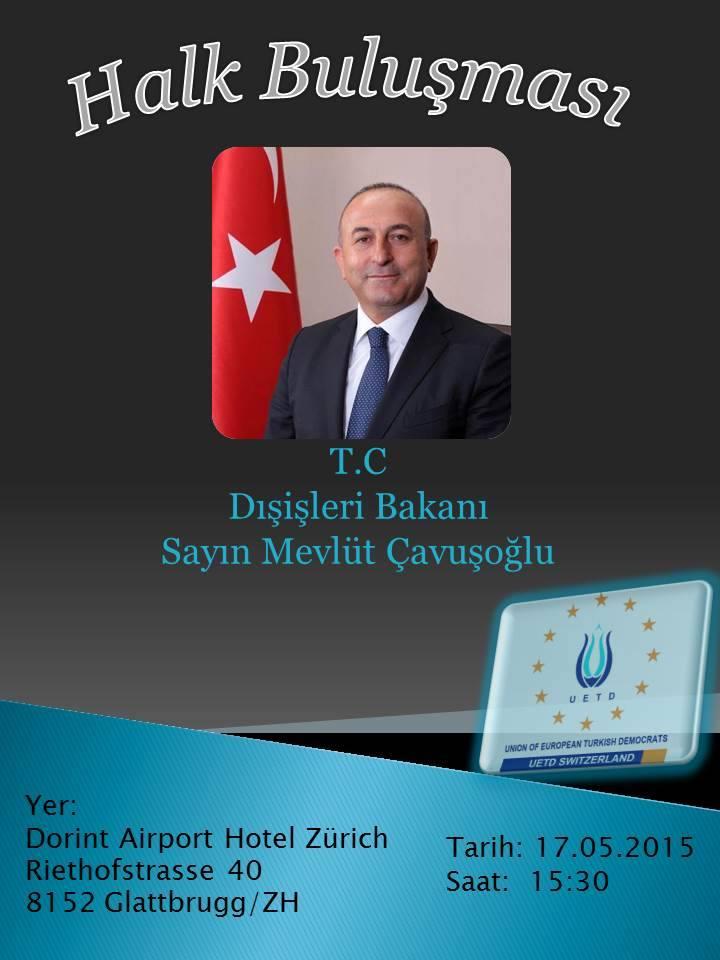 Halk Buluşması Mevlüt Çavuşoğlu