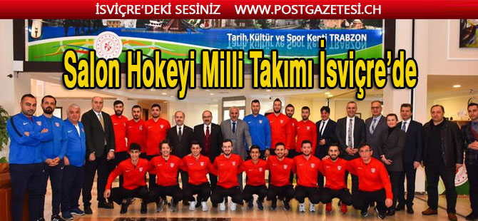 Hokey Milli Takımı İsviçre'de