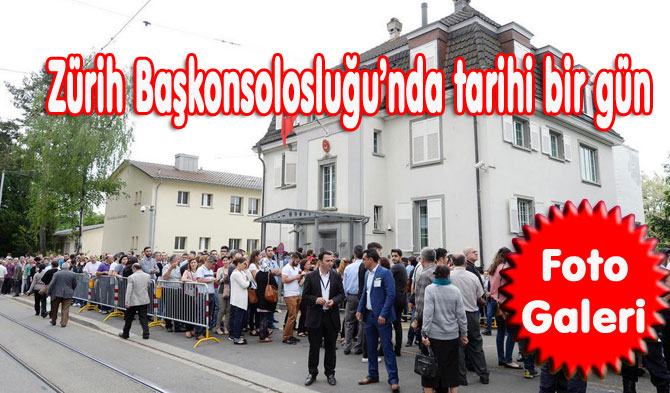 İsviçre'li Türkler Sandık Başında
