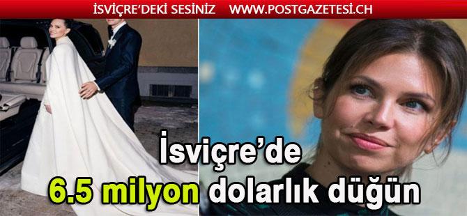 Abramoviç'in eski eşinden İsviçre'de 6.5 milyon dolarlık düğün