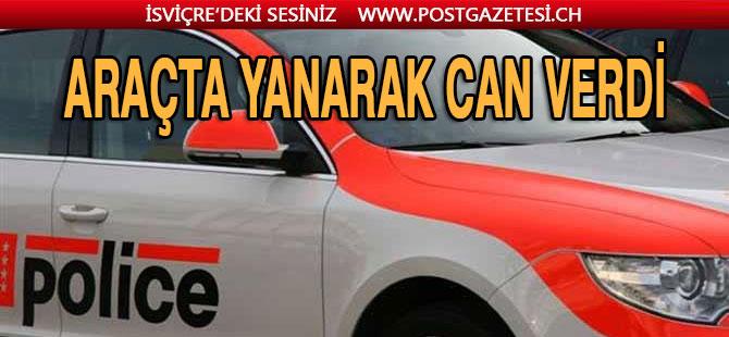 TRAJİK KAZADA GENÇ ADAM ÖLDÜ