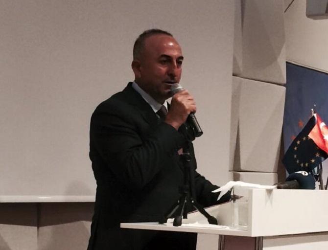 Dışişleri Bakanı Çavuşoğlu İsviçre'de