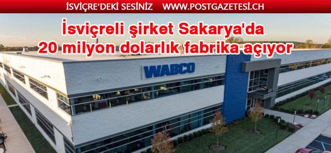 İsviçre Merkezli WABCO, Türkiye'deki ilk fabrikasının temelini attı