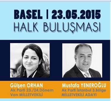 Basel'de Halk Buluşması 23.05.2015