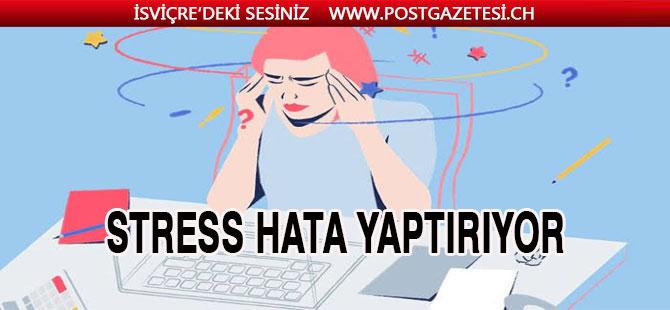 SUVA STRESS'İN VERDİĞİ ZARARLARDAN ŞİKAYETÇİ