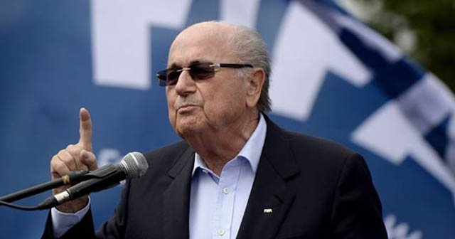 Sepp Blatter'in istifası isteniyor!