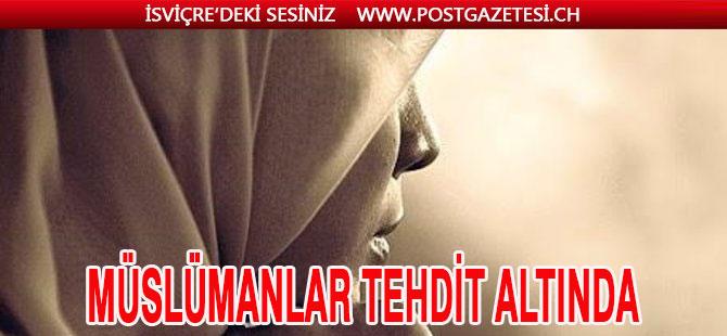 BAŞÖRTÜLÜ KADINLAR İLK HEDEF HALİNE GELDİ