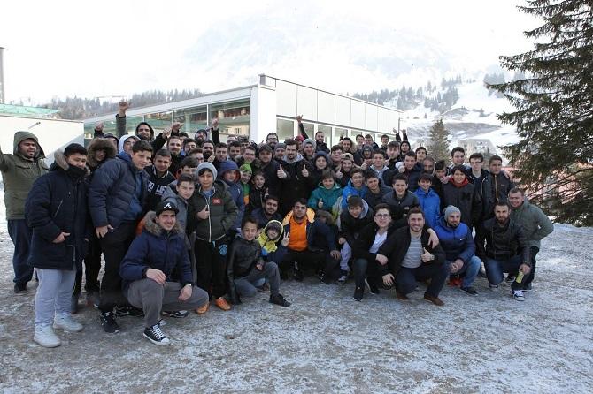 Gençlik kamplarında kardeşlikler pekişti